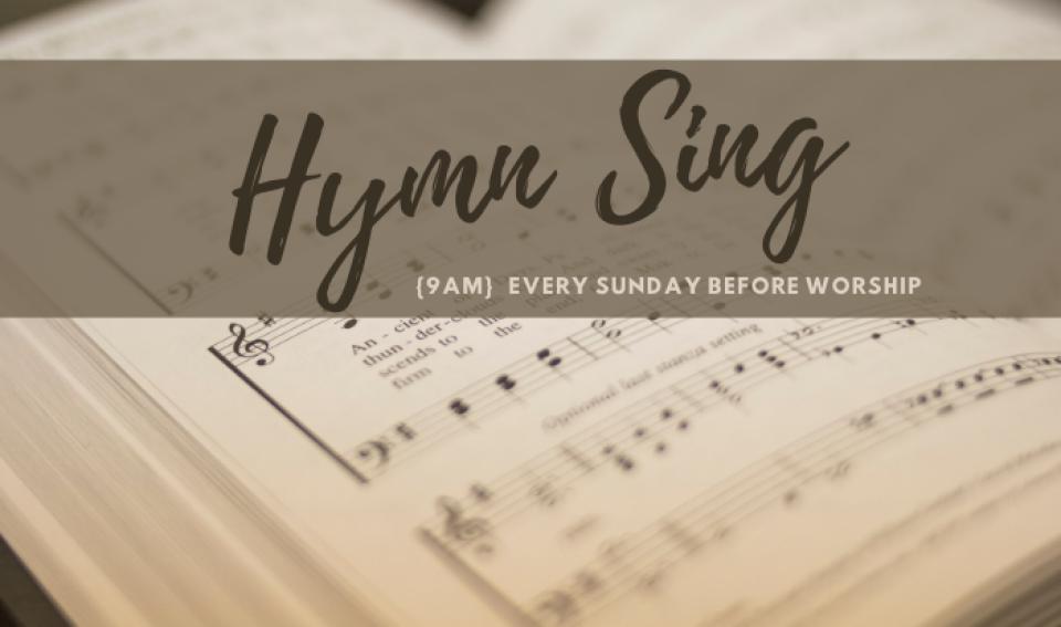 Pre-Service Hymn Sing