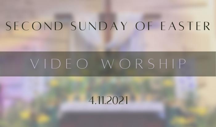 Palm Sunday Video Worship