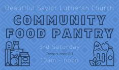 Community Food Pantry - Aug 21 2021 10:00 AM